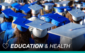 Education may mean longer, healthier life